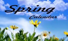 Spring calendar pic